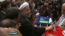 Rouhani leading rivals in Iran presidential election