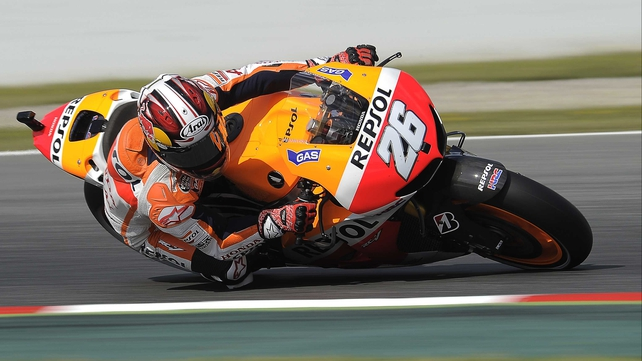 Dani Pedrosa set a record of 1:40.893