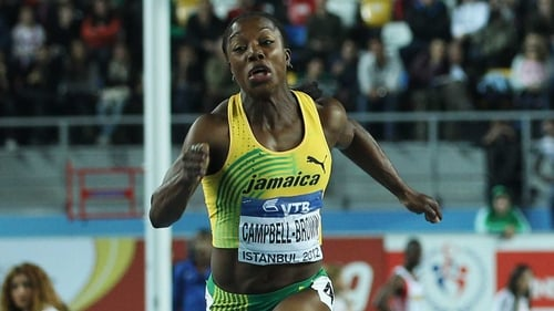 Veronica Campbell-Brown has tested positive for a banned diuretic