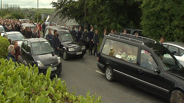 Funerals of Paul, Shane and Kenny Bolger have taken place