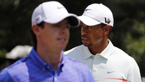 Rory McIllory and Tiger Woods speak about their chances at Muirfield.
