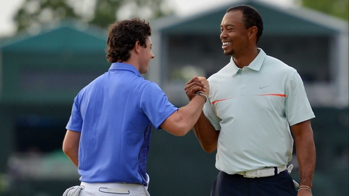 McIlroy and Woods in good form before the start of Saturday's third round