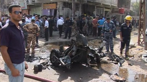 Two car bombs exploded in the southern city of Basra