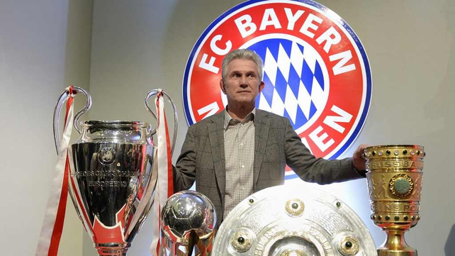 Jupp Heynckes won the treble with Bayern Munich