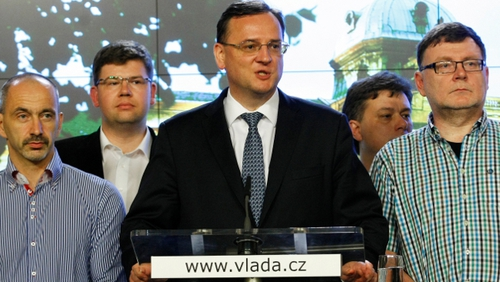 Prime Minister Petr Necas said he knew nothing about the surveillance