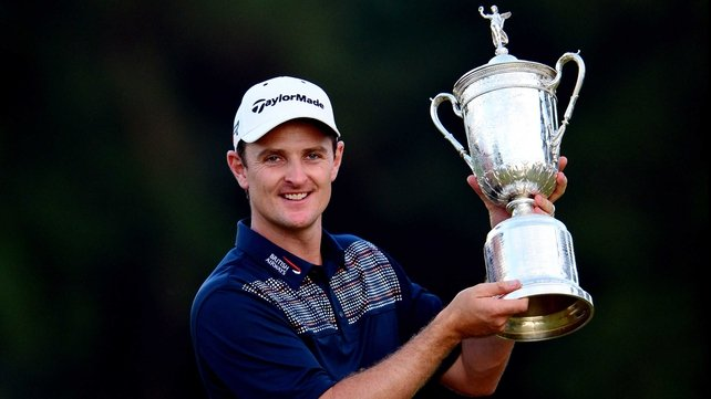 Justin Rose is eager to hold onto the US Open Championship Trophy