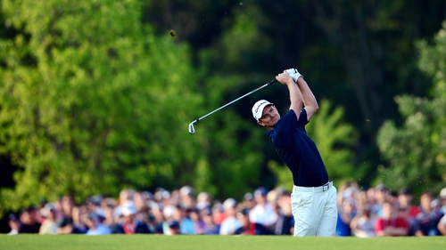Justin Rose's previous best finish at a major was tied-third at last year's  US PGA Championship