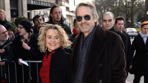 Sinead Cusack with her husband Jeremy Irons