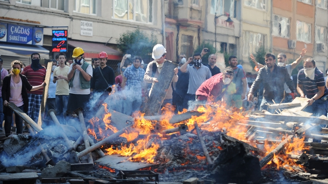 Turkish cities have seen many days of unrest