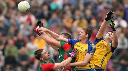 Mayo eased past Roscommon in the Connacht Football Championship semi-final