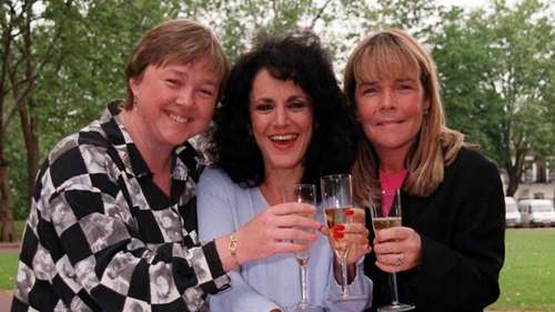 Birds of a Feather (l-r Pauline Quirke, Lesley Joseph and Linda Robson) - Plenty to smile about