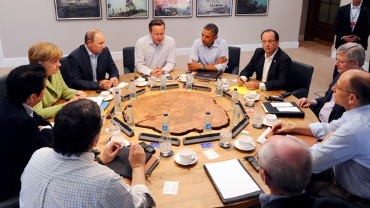 G8 summit draws to a close