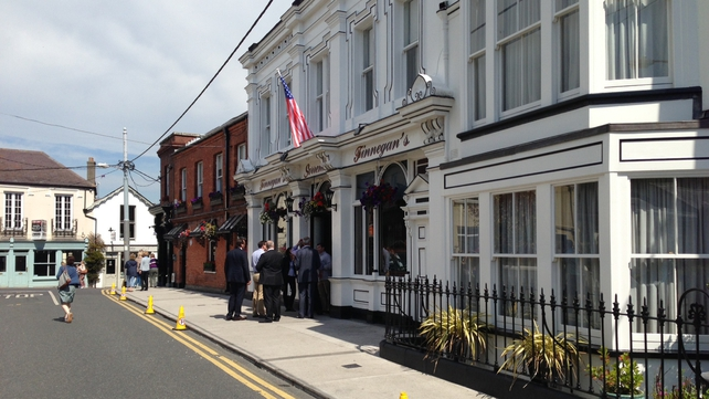The Obamas had lunch in Dalkey, Co Dublin