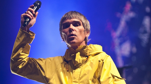 Ian Brown peforming at last week's Isle of Wight Festival