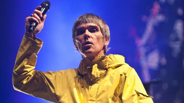 Ian Brown peforming at last week's Isle of Wight Festival