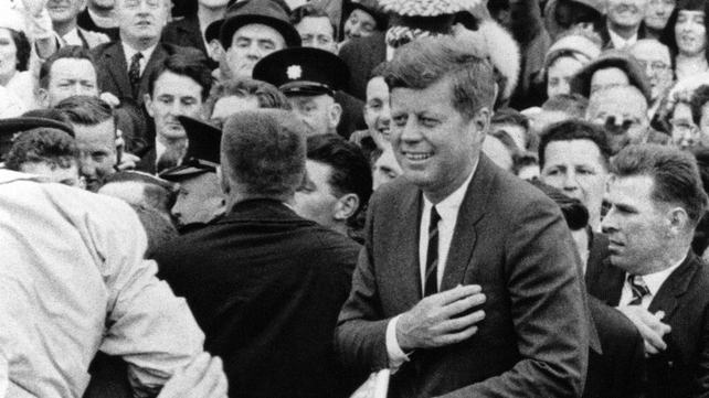 John F Kennedy had thrilled crowds during his visit to Ireland in June 1963