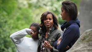 Michelle Obama and her daughters spent two days in Ireland while her husband was at the G8 summit