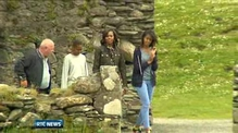 First Family given tour of Glendalough