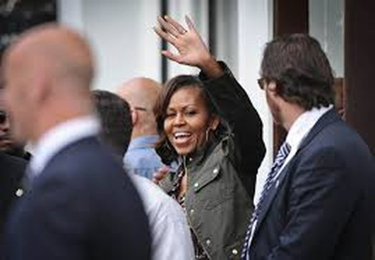 Michelle Obama's visit to Dalkey
