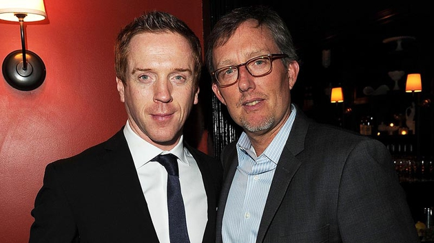 Damian Lewis and Alex Gansa