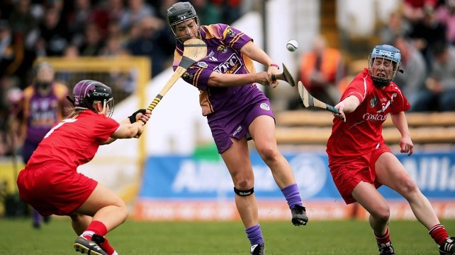 Ursula Jacob and her Wexford team-mates face Cork at Wexford Park on Saturday