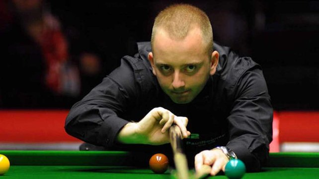 David Morris is now through to his first ranking event quarter-final (image from www.worldsnooker.com)