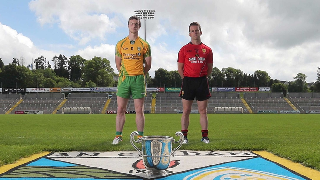 Leo McLoone and Mark Poland are set to battle it out for a place in the Ulster SFC final