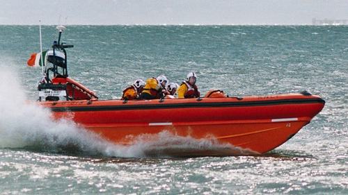 Lough Swilly lifeboat went to the assistance of the fishermen