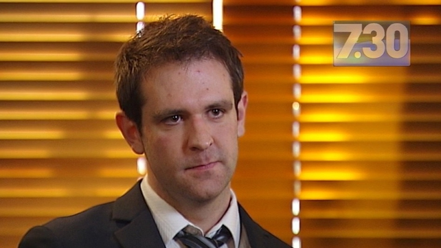 Tom Meagher said his wife was 'the funniest girl in the world' (Pic: ABC)