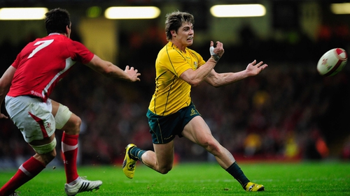 James O'Connor will start for Australia against the Lions
