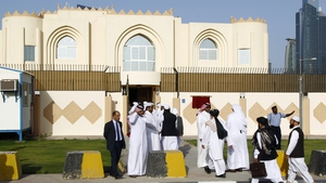 Officials of Hamid Karzai's government, were angered by the opening of a Taliban political office in Doha on Tuesday