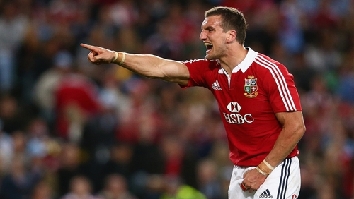 Sam Warburton captained the Lions in Australia