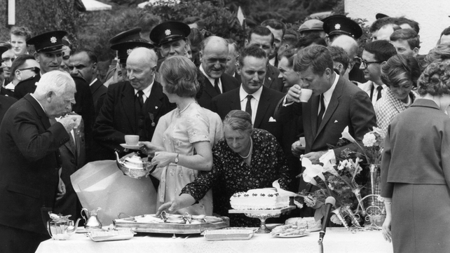 Events are taking place this week to mark the 50th anniversary of president Kennedy's visit