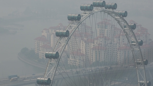 Singapore air quality threatened by haze