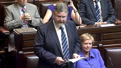 Minister James Reilly introduced the legislation in the Dáil