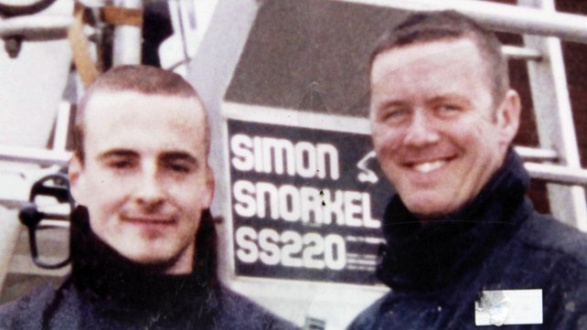 Mark O'Shaughnessy (L) and Brian Murray died in the blaze in 2007
