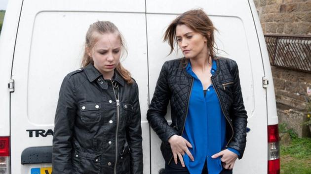 Debbie warns Belle to accept her punishment