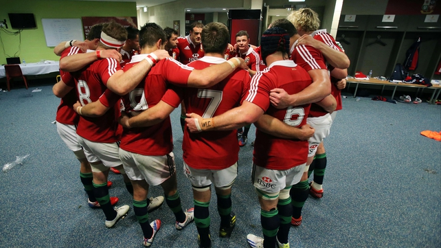 Eight Welshmen, four Irishmen and three Englishmen take to the field for the Lions against Australia