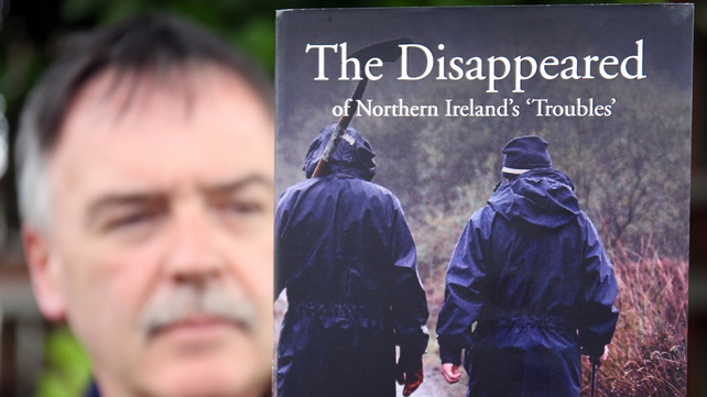 Kieran Megraw's brother Brendan is one of the Disappeared