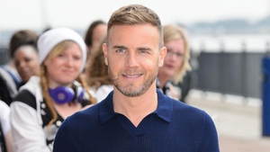Gary Barlow - went all rock 'n' roll to inspire singer