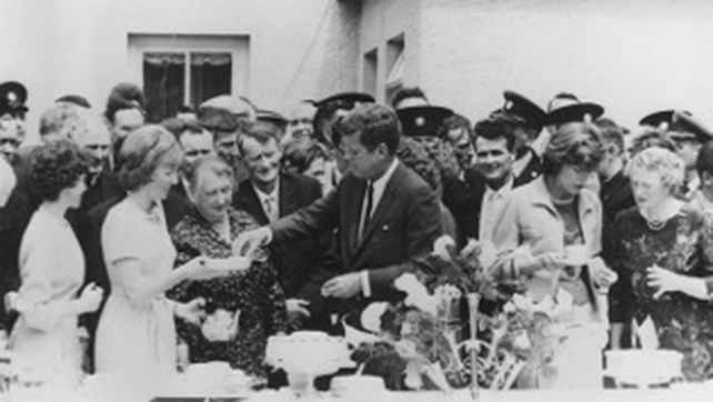 President Kennedy visited several cities and towns, including his ancestral home in Co Wexford