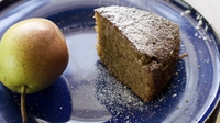 Cinnamon Pear Cake - Delicious - Moist - a real treat - sweet taste and texture  of pear - my family love it! It's more a dessert cake rather than a cake for tea.