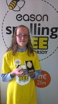 Eason All-Ireland Spelling Bee winner