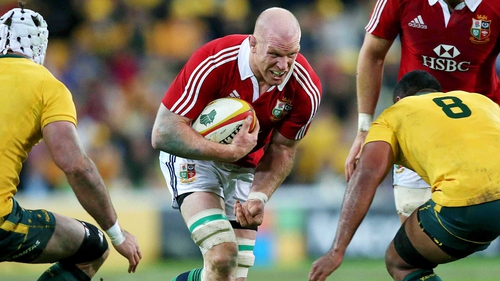 Paul O'Connell's Lions tour is over due to a fractured right forearm
