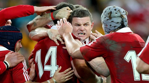 Brian O'Driscoll is not in the Lions squad
