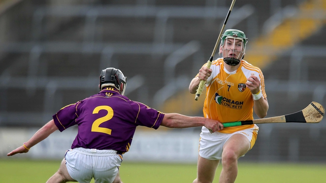 Wexford pulled away from the Ulster side midway through the second half