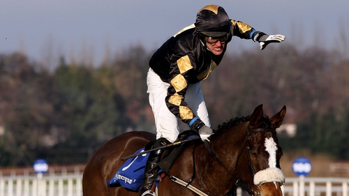Robert Power claimed first place in the Hickstead Speed Derby