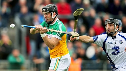 Shane Dooley goals for Offaly in the first half of their meeting with Waterford