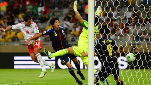 Javier Hernandez heads home for Mexico