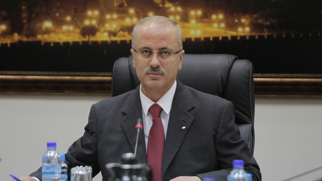 Rami Hamdallah announced last Thursday that he was quitting just two weeks after taking office